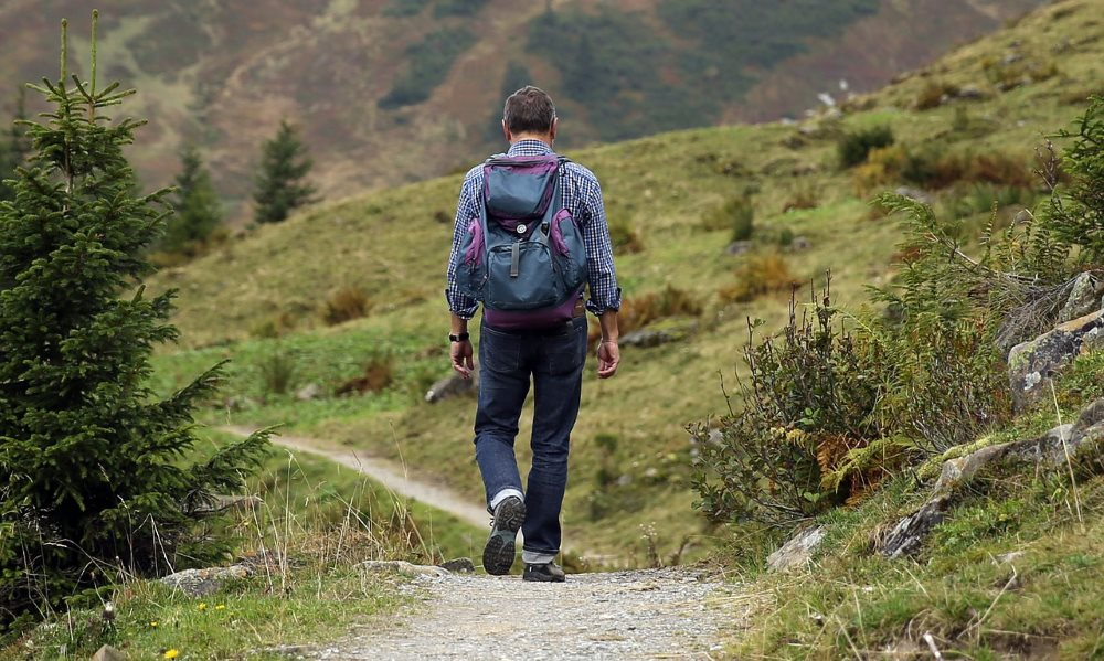 Wandern als gesunde Sportart